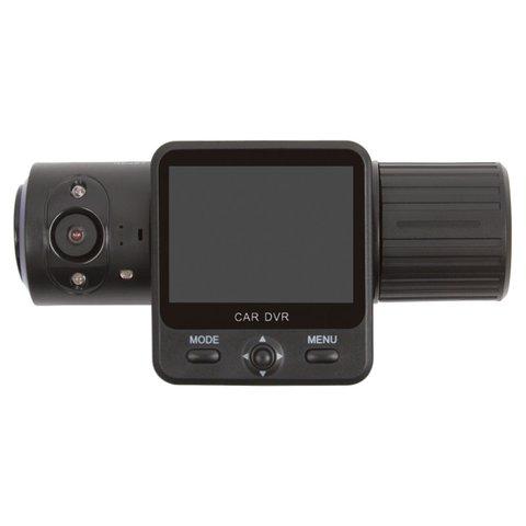 Автомобильный видеорегистратор с GPS и 2 камерами Globex X6000