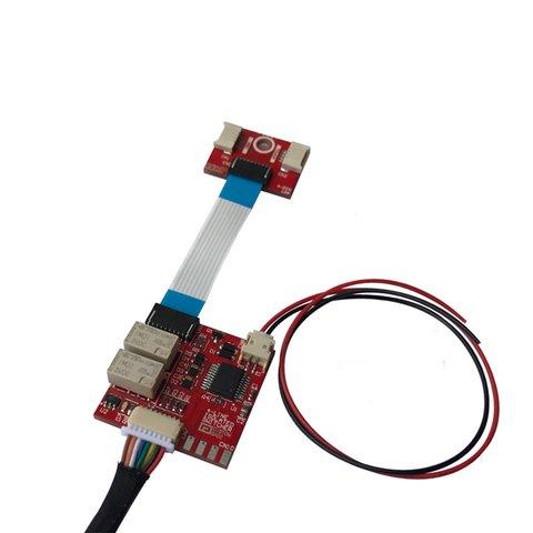 Комутатор штатного резистивного сенсорного скла для Bluetooth контролера Android та iOS пристроїв