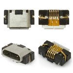 Charge Connector compatible with Blackberry 9380, 9790, (5 pin, micro USB type-B)