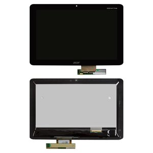 LCD for Acer Iconia Tab A210, Iconia Tab A211 Tablets, (black, with touchscreen)