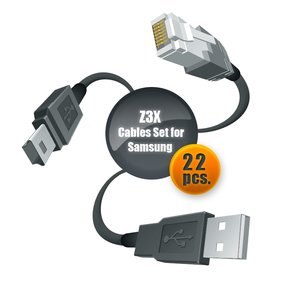 Z3X Cable Set for Samsung (22 pcs.) by GPG