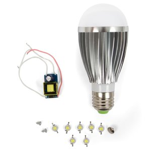 LED Light Bulb DIY Kit SQ-Q03 7 W (natural white, E27)