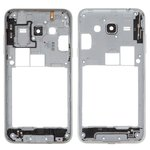 Housing Middle Part compatible with Samsung J310 Galaxy J3 (2016), J320H/DS Galaxy J3 (2016), (golden)