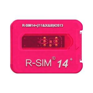 R-Sim 14+ Unlocking Card for iPhone 11 / 11 PRO / 11 PRO MAX / XR / XS / XS MAX /  X / 8 / 8 Plus / 7 / 7 Plus / 6s / 6s Plus / 6 / 6 Plus / 5 SE/ 5s