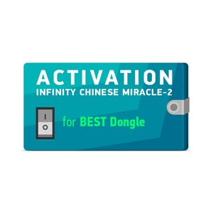Activacion Infinity Chinese Miracle-2 para BEST Dongle (soporte por 1 año)