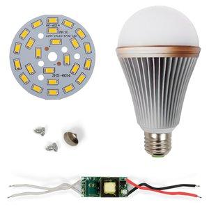 Комплект для сборки светодиодной лампы SQ-Q24 12 Вт (теплый белый, E27)