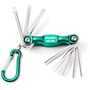 Набор отверток и гаечных ключей Pro'sKit HW-222S-PK