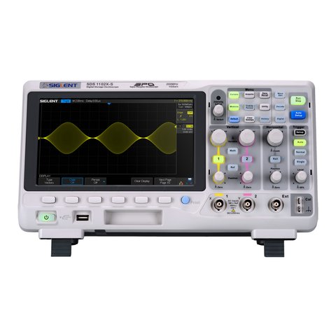 Фосфорний цифровий осцилограф SIGLENT SDS1102X S