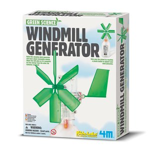 Конструктор 4M Вітряний генератор