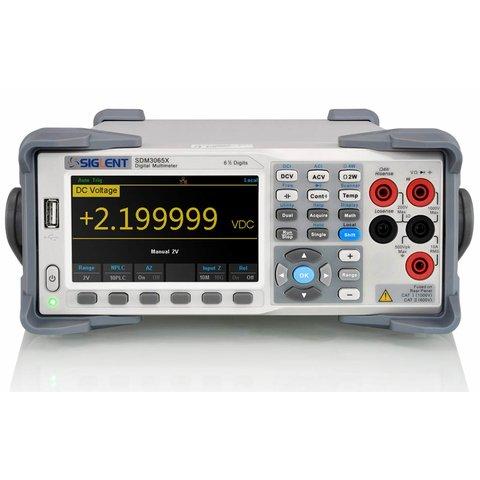 Цифровий мультиметр SIGLENT SDM3065X SC з мультиплексором