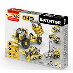 Строительная техника 12 в 1 STEAM-конструктор Engino Inventor