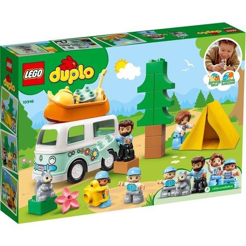 Конструктор LEGO DUPLO Семейное приключение на микроавтобусе 10946