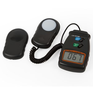 Light Meter LX-1010B, with Display