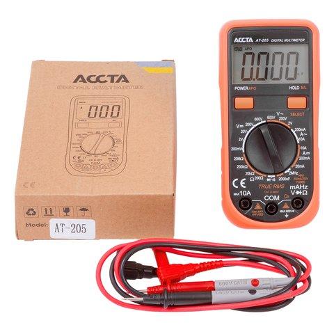 Digital Multimeter Accta AT 205